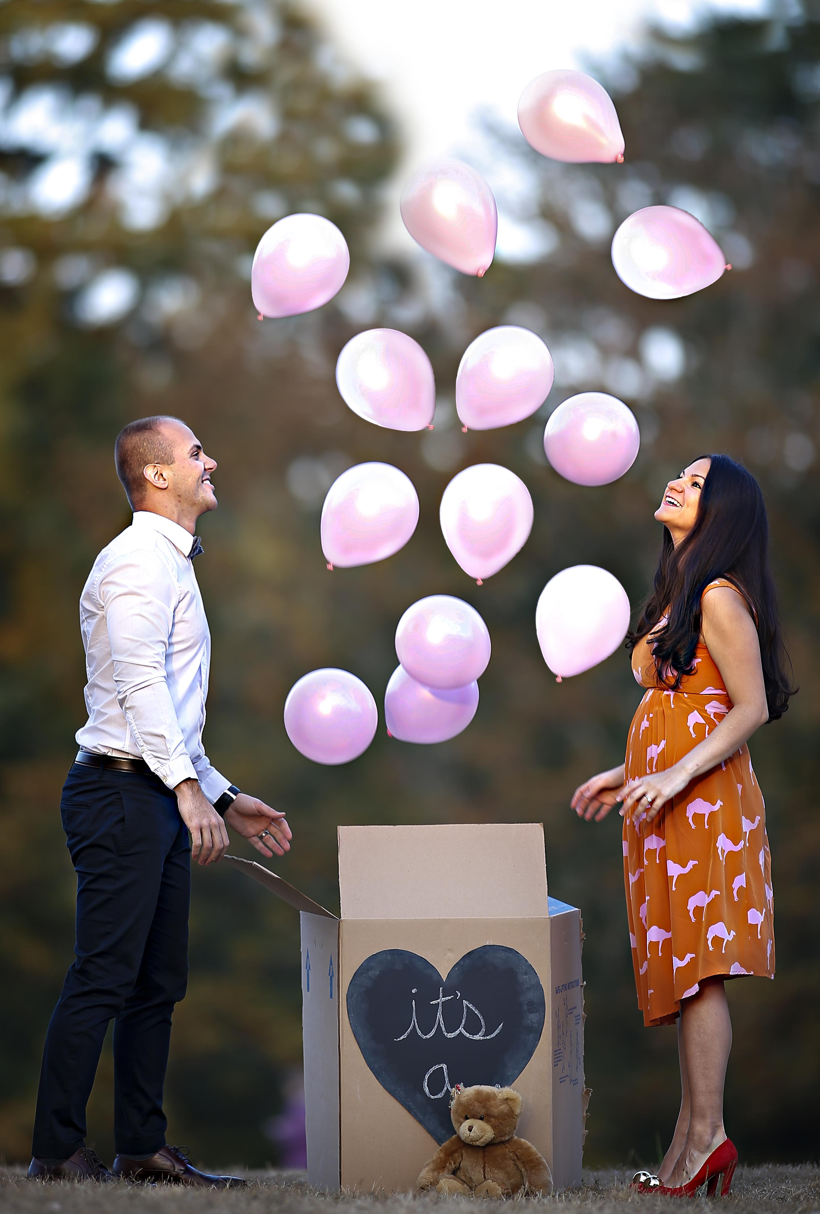 pregnancy announcement ideas | two hearts one goal